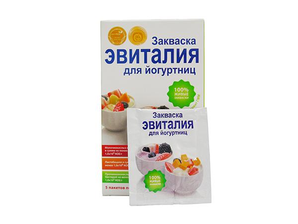 закваска эвиталия инструкция по применению в йогуртнице
